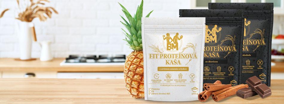 Vyskúšajte naše nové fit proteínové kaše