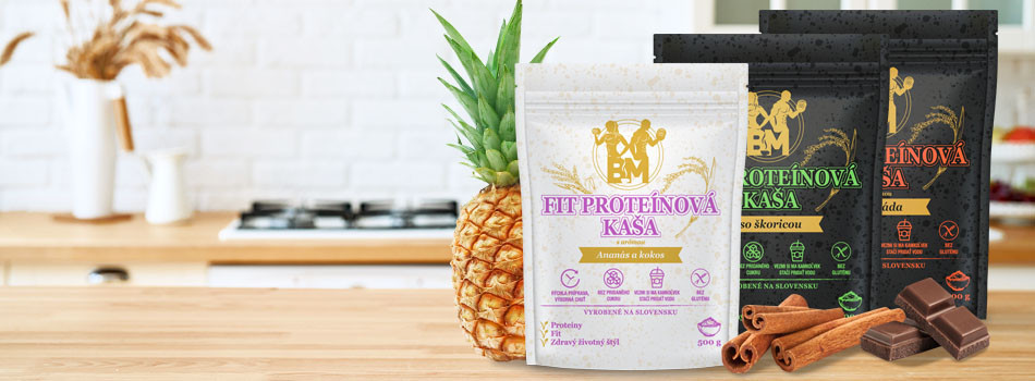 Try our new fit protein porridge