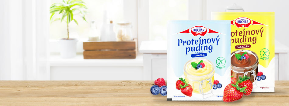 Taste our new protein puddings