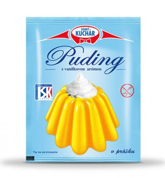 Powdered vanilla pudding