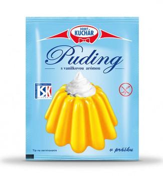 Puding v prášku s vanilkovou arómou