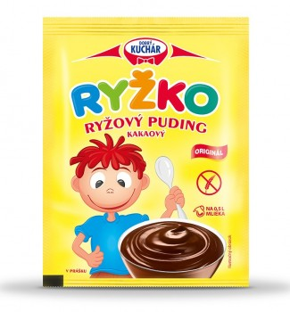 RYŽKO Rice powdered pudding, cocoa aroma