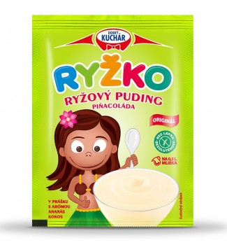 RYŽKO Rice powdered pudding, piñacolate