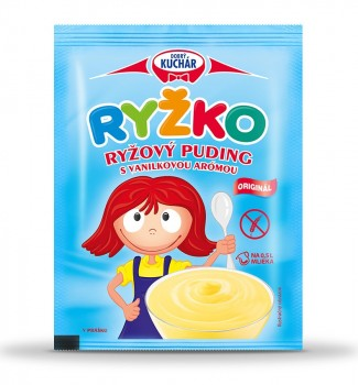 RYŽKO Powdered Rice pudding, vanilla aroma