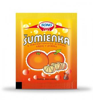 Šumienka s mandarínkovou arómou