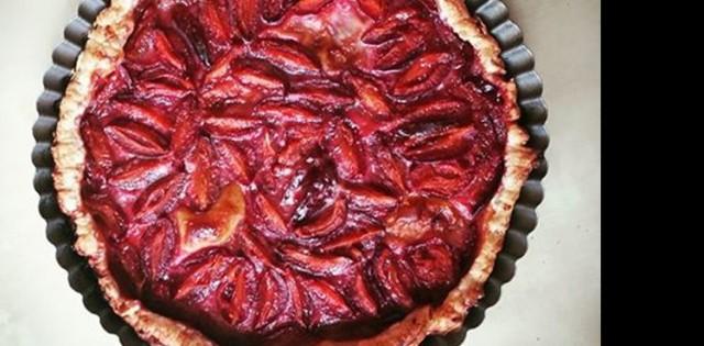 Jesenný slivkový koláč